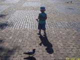 wycieczka i karmienie gołąbków :)