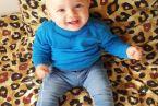 Zawsze uśmiechnięty Jaś - 10 miesięcy za nami :)