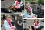 Martynka, 8 lat. Najlepsza zabawa ze zwierzakami :)