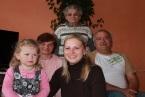 Prababcia, babcia, dziadek, wnuczka, i prawdnuczka