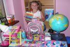 Kasia gotowa do szkoły :-)