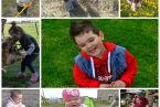 Wiktor 6 lat,Gabriela 1,5 roku i Magdalena 5