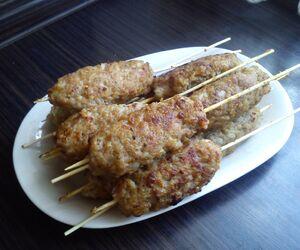 Kebab - proste danie na piknik.