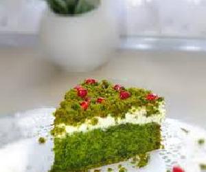 Ciasto świąteczne leśny mech