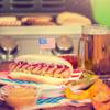 Hot-dogi  z sosem barbecue