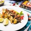 Krewetki z jarmużem, pomidorami i dzikim ryżem marki Britta