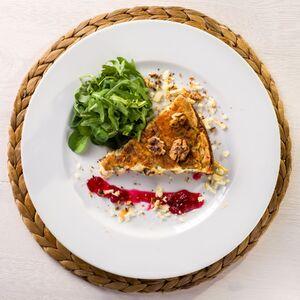 Pyszna i prosta TARTA z mięsem i orzechami w karmelu