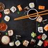 Japoński akcent w kuchni - Sushi z wędzonym łososiem i serkiem