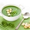 Gorąca i sycąca zupa szpinakowa