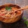 Czerwona zupa z ryżem Basmati marki Britta