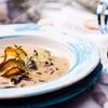 Szybka wigilijna zupa grzybowa z topinamburem