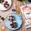 Mini tartaletki z kremem z mascarpone i owocami sezonowymi
