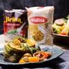 Gołąbki wegetariańskie z ryżem 4 kolory marki Britta i soczewicą marki Halina