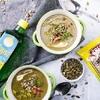 Kremowa zupa fit z prażonymi nasionami