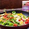 Kuskus izraelski marki Halina z kolorowymi warzywami