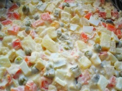 Salatka Warzywna Tradycyjna Przepis Przepisy Na Salatki
