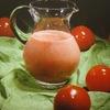 Napój z kefiru z pomidorami