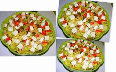 Grecka Salatka Przepis sa Atka Grecka z Kaparami